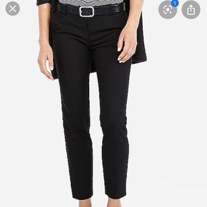 Express Low-Rise Columnist Ankle Pant 00S